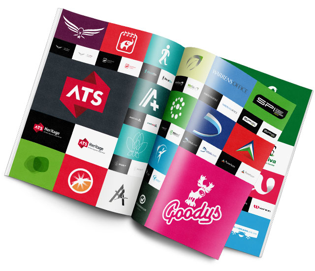logo design brochure