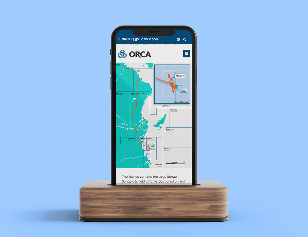 An illustrated map on where orca works