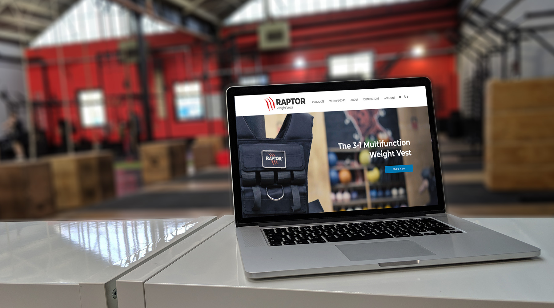 Mobile phones showcasing the ecommerce features of raptor weight vests