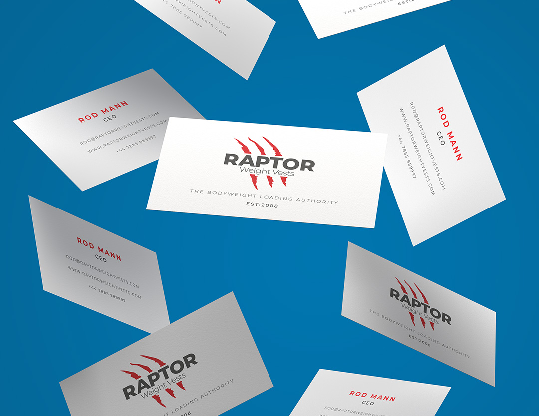 newly designed business cards