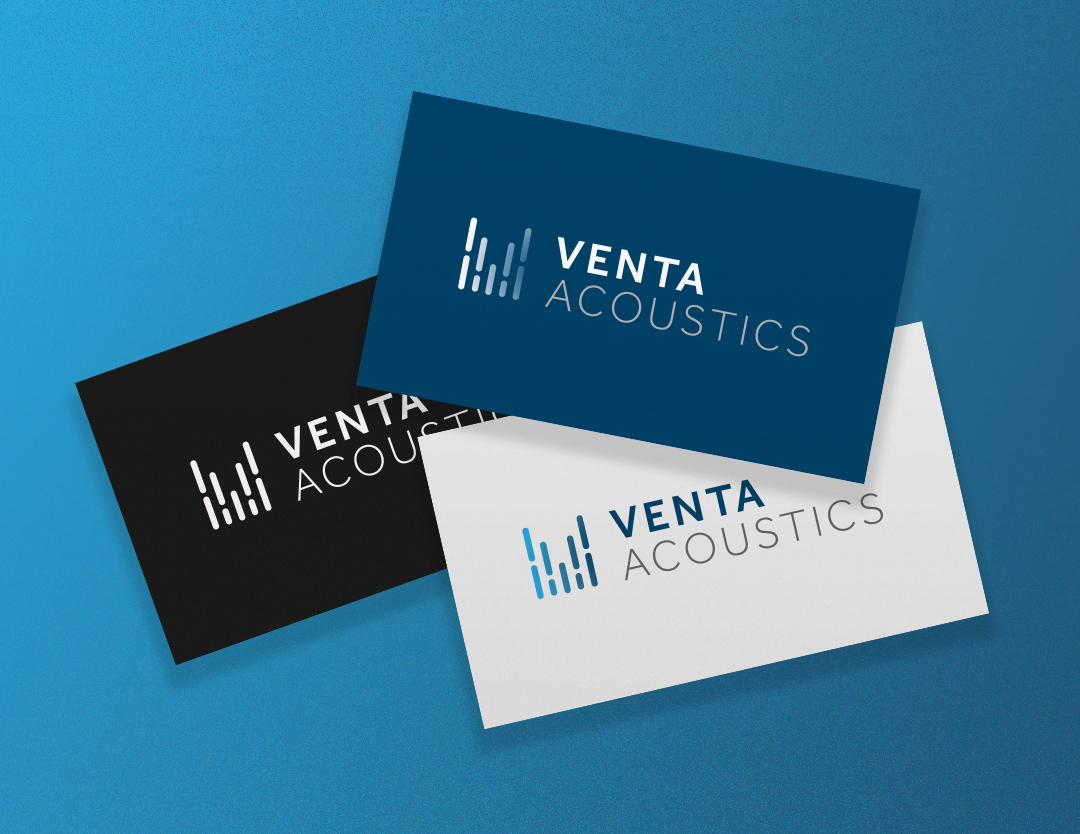 new logo for venta acoustic