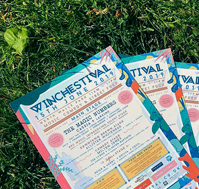 Branding and digital marketing for Winchester's premier music festival