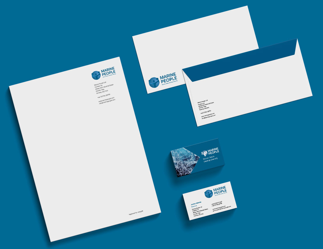 Marine People stationery