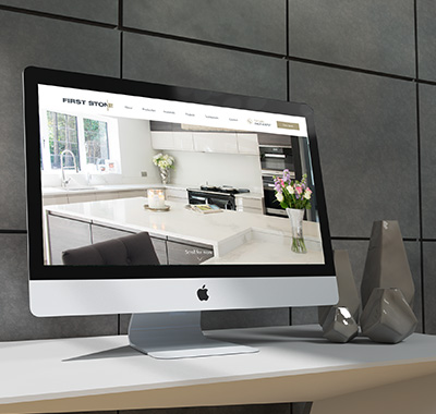 Web design for bespoke stone masons