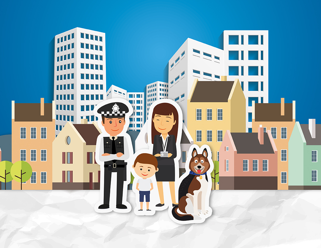 Police Mortgages characters