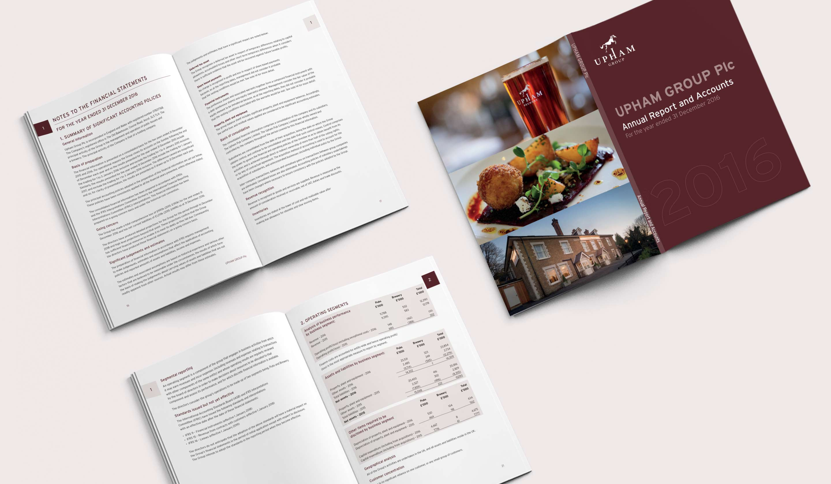 Upham Group annual report