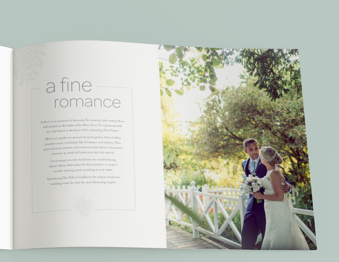 Upham Group wedding venue brochure